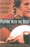 Book cover: Playing with the Boys